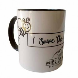 """Taza """"Save the Humans"""""""